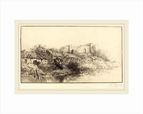 Abandoned Village by Alphonse Legros