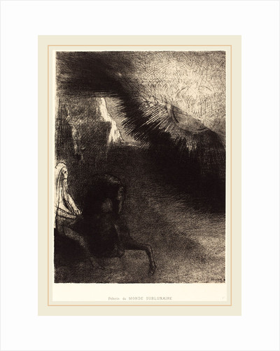 Pélerin du monde sublunaire, 1891 by Odilon Redon