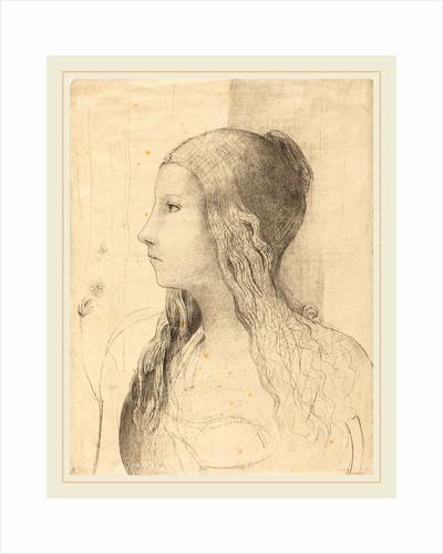 Brunnhilde, 1894 by Odilon Redon