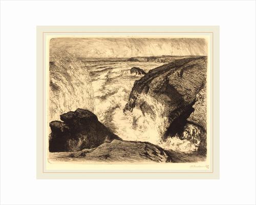 Spring Tide, Rocks of Zion, 1907 by Auguste Lepère
