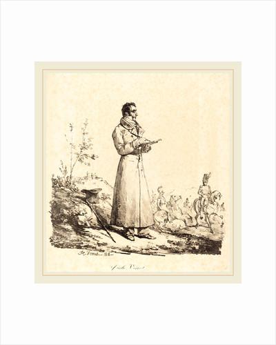 Carle Vernet, Full-Length, 1818 by Horace Vernet