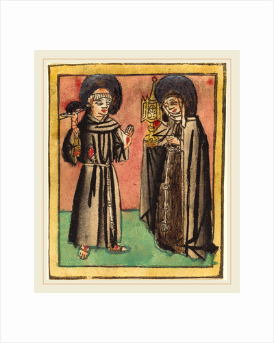 Saint Francis and Saint Clara by Anonymous