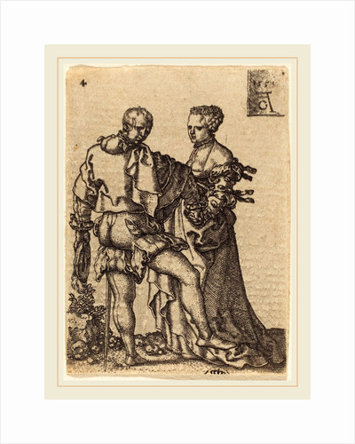 Dancing Couple, 1551 by Heinrich Aldegrever