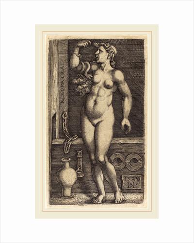 Cleopatra Standing, 1529 by Sebald Beham