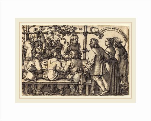 Peasants' Feast by Sebald Beham