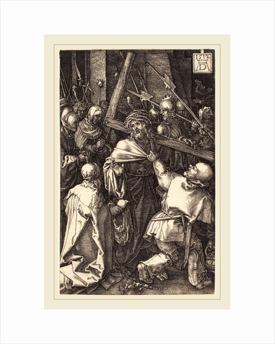 Christ Carrying the Cross, 1512 by Albrecht Dürer
