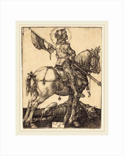 Saint George on Horseback, 1508 by Albrecht Dürer