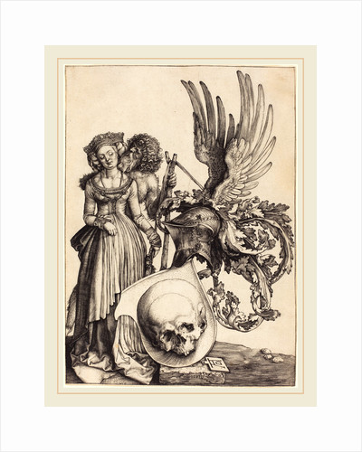 Coat of Arms with a Skull, 1503 by Albrecht Dürer