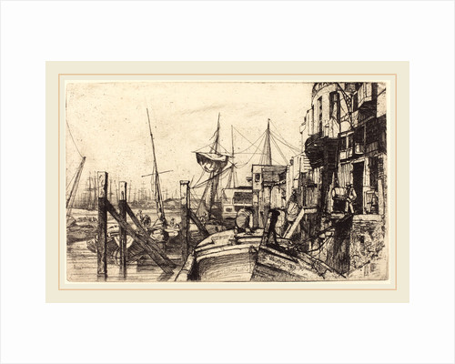 Limehouse, 1859 by James McNeill Whistler