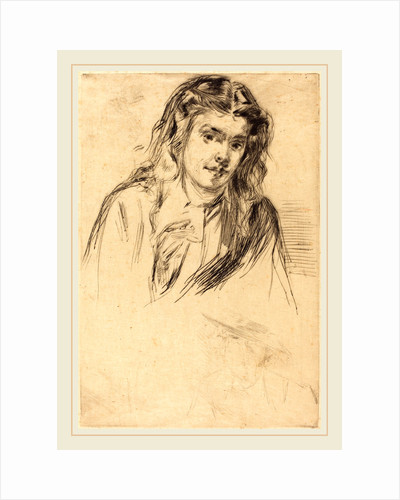 Fumette's Bent Head, 1859 by James McNeill Whistler