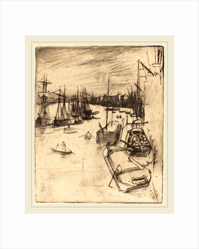 Little Wapping, 1861 by James McNeill Whistler