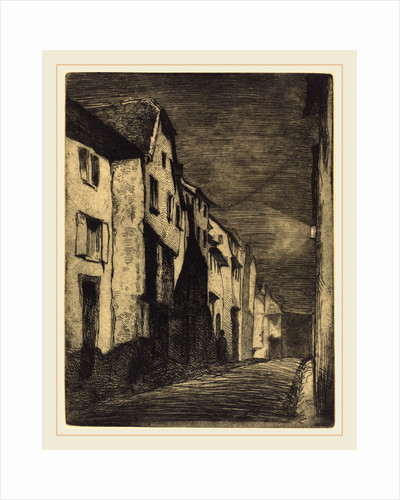 Street in Saverne, 1858 by James McNeill Whistler
