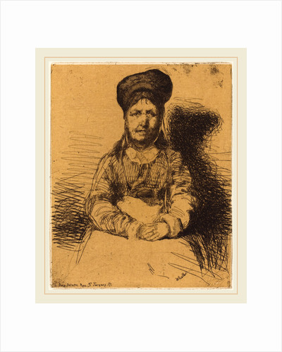 La Retameuse, 1858 by James McNeill Whistler