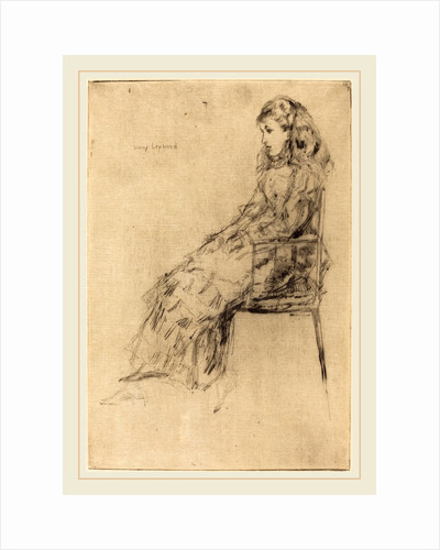 Fanny Leyland, 1873 by James McNeill Whistler