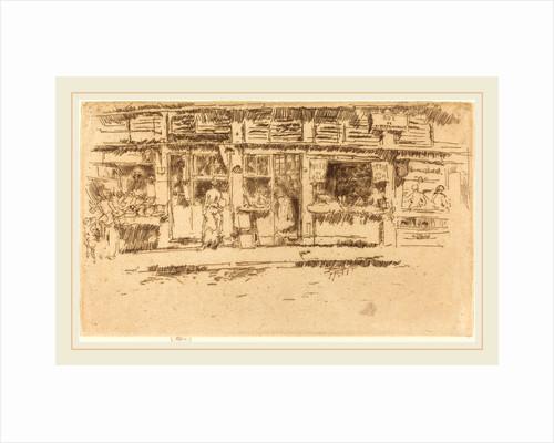 Rue de la Rochefoucault, 1893 by James McNeill Whistler