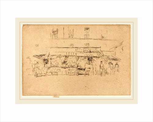 Quai de Montebello, 1893 by James McNeill Whistler