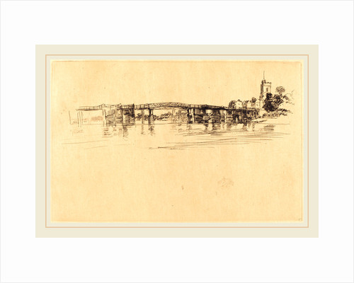 Little Putney No. 1, 1879 by James McNeill Whistler