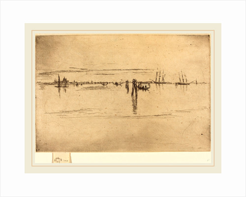 Long Lagoon, 1880 by James McNeill Whistler