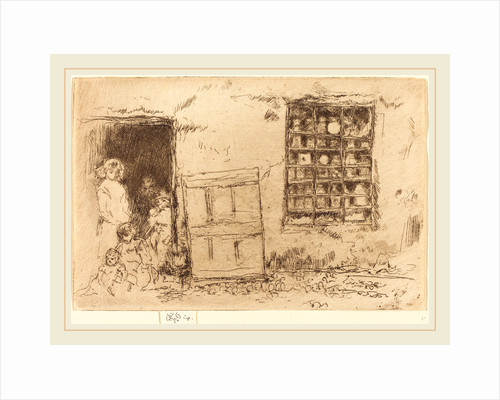 The Village Sweet-Shop, 1887 by James McNeill Whistler