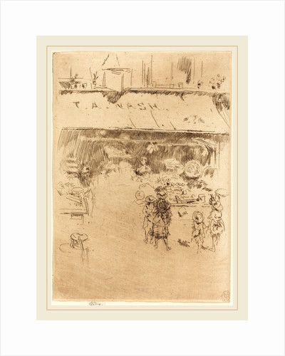 T.A. Nash's Fruit-Shop, c. 1886 by James McNeill Whistler