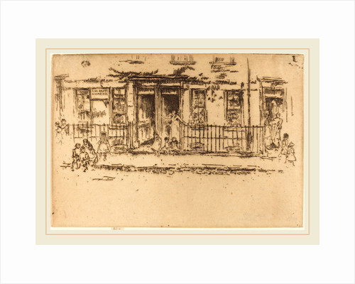 Justice Walk-Chelsea by James McNeill Whistler