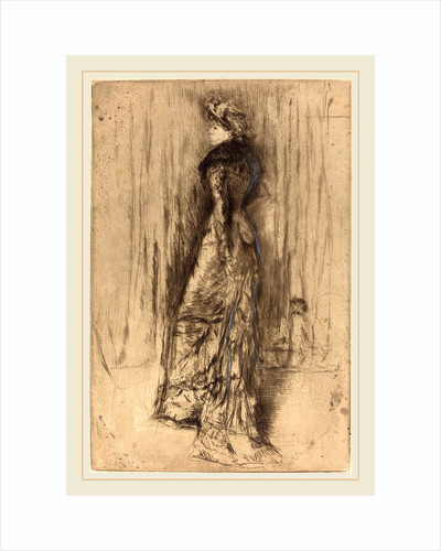 Maud, Standing, c. 1873 by James McNeill Whistler