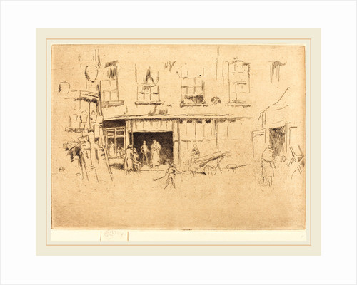 Little Court by James McNeill Whistler
