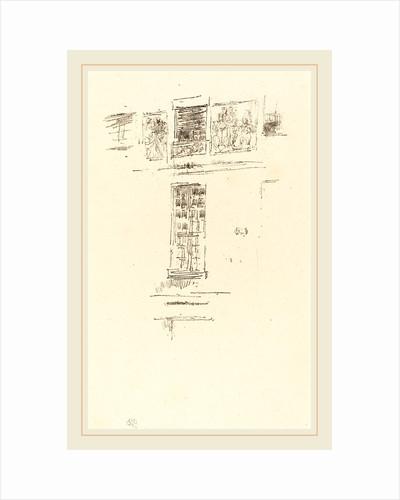 Hôtel Colbert, Windows, 1891 by James McNeill Whistler