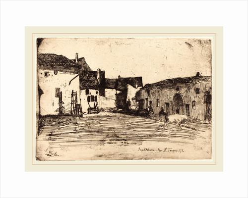 Liverdun, 1858 by James McNeill Whistler