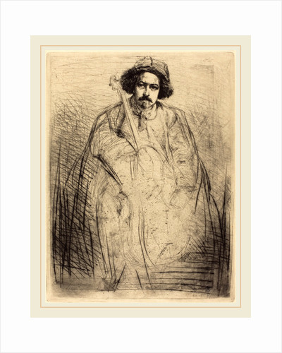Becquet, 1859 by James McNeill Whistler