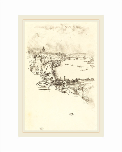 Little London, 1896 by James McNeill Whistler