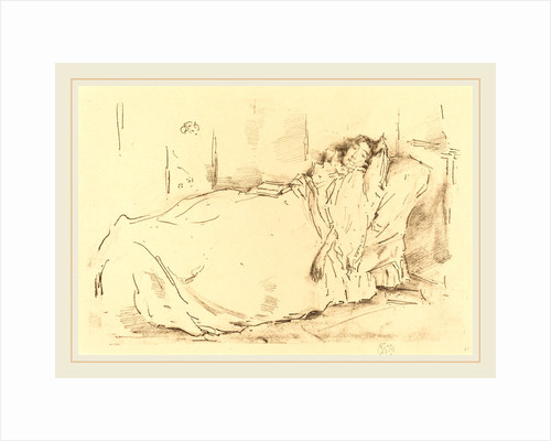The Siesta, 1896 by James McNeill Whistler