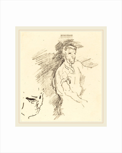 Sketch of a Blacksmith, 1895 by James McNeill Whistler