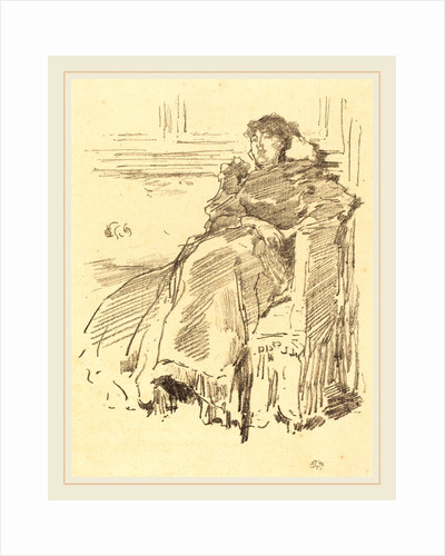 La Robe Rouge, 1894 by James McNeill Whistler