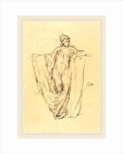 Figure Study, 1895 by James McNeill Whistler