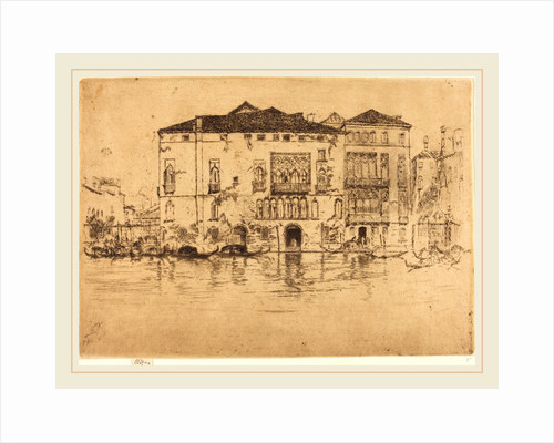 The Palaces, 1880 by James McNeill Whistler