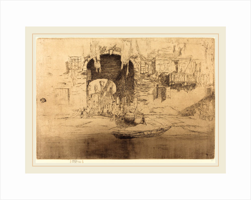 San Biagio by James McNeill Whistler