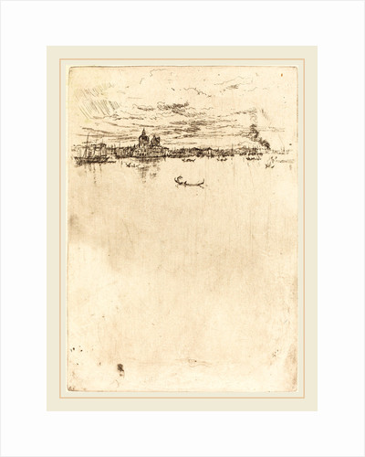 Upright Venice, 1880 by James McNeill Whistler