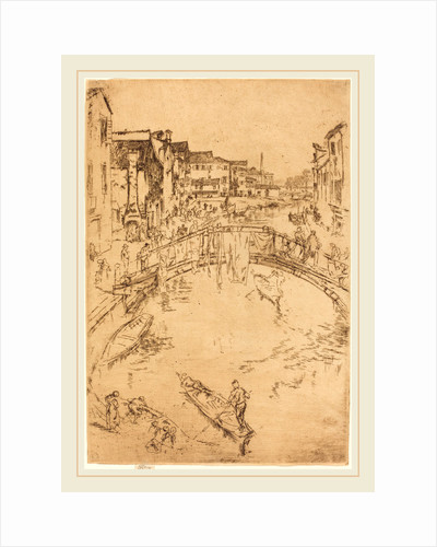 The Bridge by James McNeill Whistler
