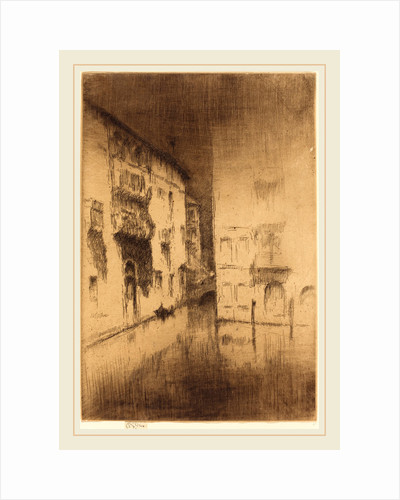 Nocturne: Palaces by James McNeill Whistler