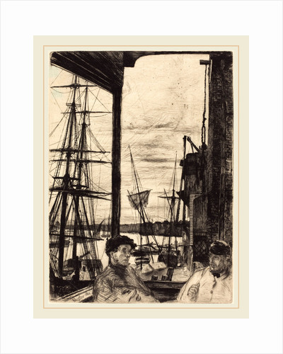 Rotherhithe, 1860 by James McNeill Whistler