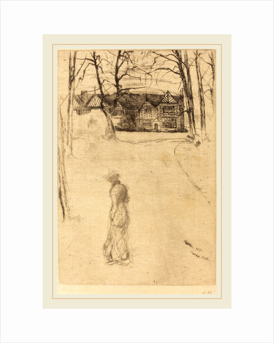 Speke Hall, No.1, 1870 by James McNeill Whistler