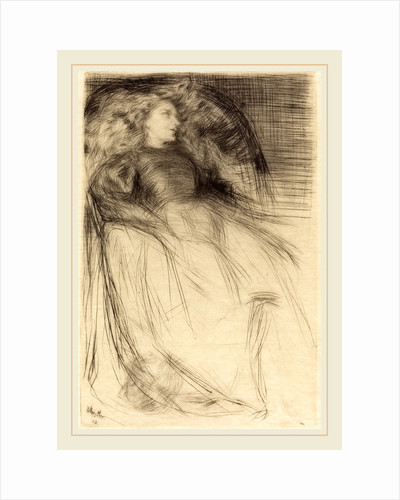 Weary, 1863 by James McNeill Whistler