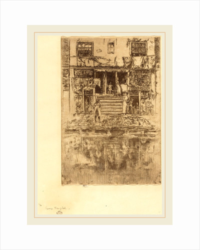 Steps, Amsterdam, 1889 by James McNeill Whistler
