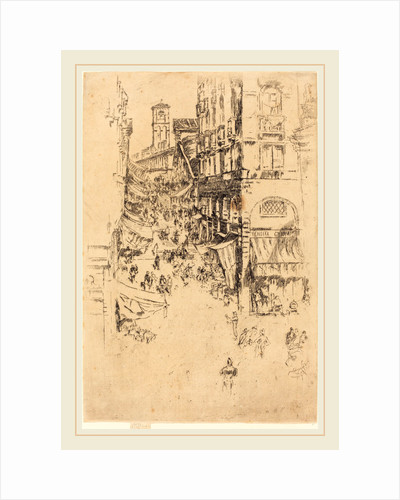 The Rialto, 1880 by James McNeill Whistler