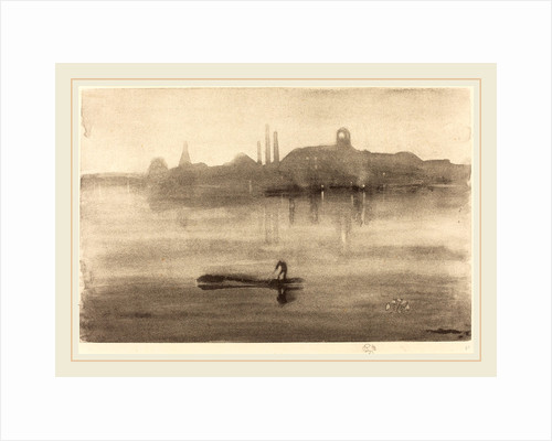 Nocturne, 1878 by James McNeill Whistler