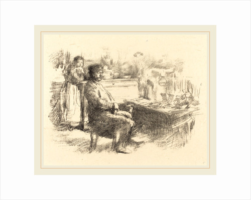 The Shoemaker by James McNeill Whistler
