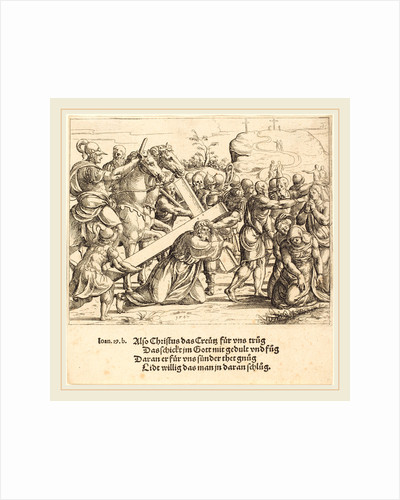Christ Carrying the Cross, 1547 by Augustin Hirschvogel