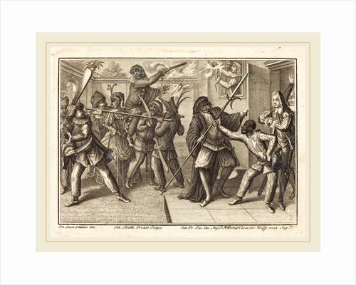 The Captain Regains His Freedom, 1729 by Johann Balthasar Probst