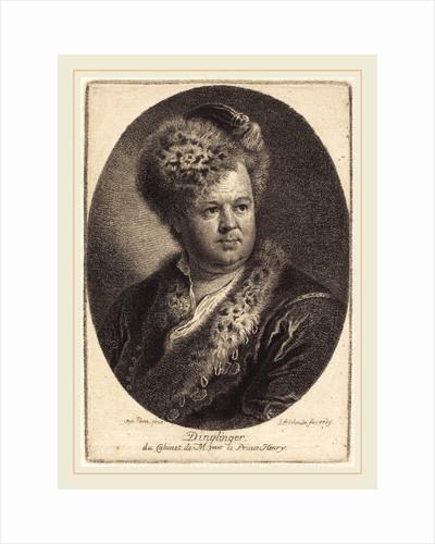 Johann Melchior Dinglinger, 1769 by Georg Friedrich Schmidt